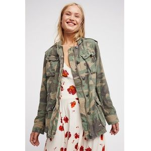 Free People | Not Your Brothers Camo Jacket